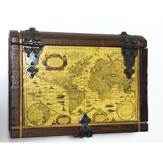 ディズニー(Disney)のディズニーシー カリブの海賊 収納ケース 鍵付き パイレーツオブカリビアン(ケース/ボックス)