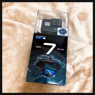 ゴープロ(GoPro)の【新品、未開封】GoPro ウェアラブルカメラ HERO7 Black(コンパクトデジタルカメラ)