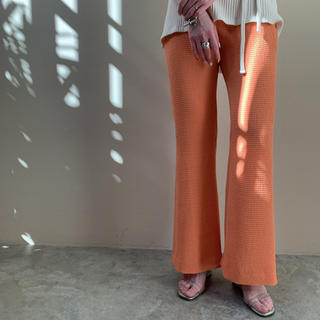 PHEENY 完売Double weave dobby easy pants