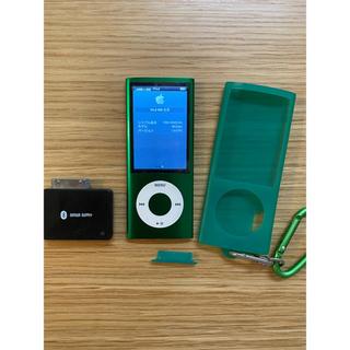 Apple - iPod nano 8GB 第5世代 Bluetooth、ラバーケース付き