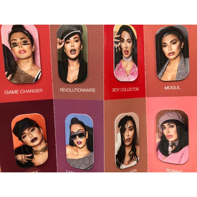 Kylie Cosmetics(カイリーコスメティックス)のHUDA BEAUTY 口紅set❤︎ コスメ/美容のベースメイク/化粧品(口紅)の商品写真