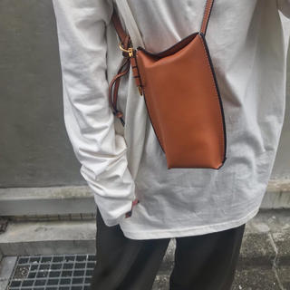 TODAYFUL - 【CLOWNÉ】REAL LEATHER POUCHBAG