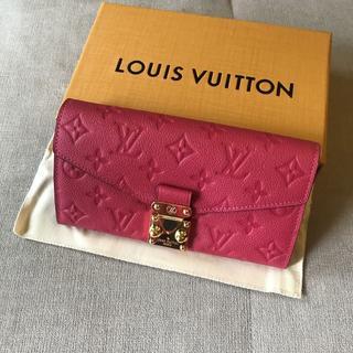 LOUIS VUITTON -  美品 ルイヴィトン 財布 ポルトフォイユメティス
