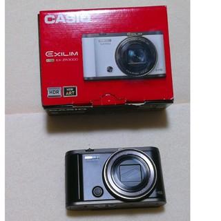 CASIO - CASIO HIGH SPEED Exilim EX-ZR3000BK 美品