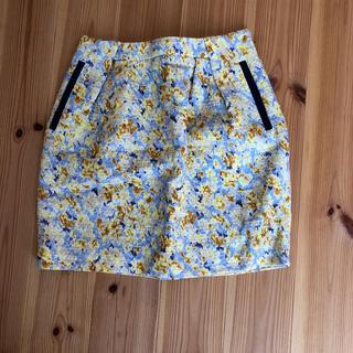 アーバンリサーチ(URBAN RESEARCH)のアーバンリサーチ 花柄スカート(ミニスカート)