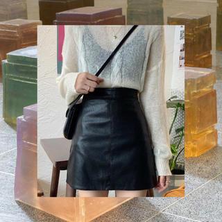 韓国 レザースカート ❤︎🦋(ミニスカート)