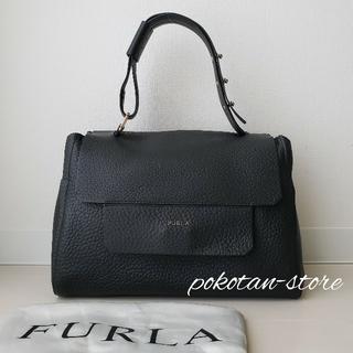 Furla - 美品【フルラ】カプリッチョ M トップハンドルバッグ ショルダーバッグ