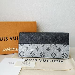 LOUIS VUITTON - 新品同様【ルイ・ヴィトン】ポルトフォイユ・ブラザ エクリプス スプリット 長財布