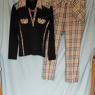 BURBERRY - バーバリー パンツスーツ 未使用