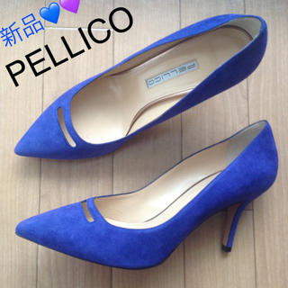 PELLICO - 新品‼︎ PELLICO スエードパンプス