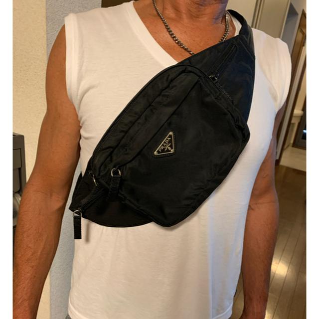 PRADA(プラダ)のPRADA ウエストポーチ レディースのバッグ(ボディバッグ/ウエストポーチ)の商品写真