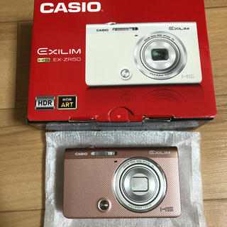 カシオ(CASIO)のCASIO デジタルカメラ EXILIM EX-ZR50 ピンク(コンパクトデジタルカメラ)