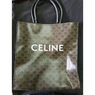 celine - CELINE セリーヌ トートバッグ トリオンフ キャンバス