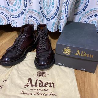 Alden - ALDEN インディーブーツ コードバン レザーソウル別注 8D 中古