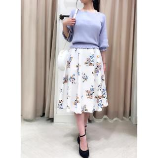 ノエラ(Noela)のNoela オリジナルスプリングフラワースカート(ひざ丈スカート)