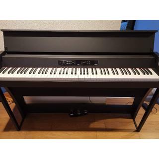 美品 電子ピアノ KORG G1 Air ブラック 定価約10万(電子ピアノ)