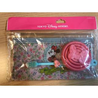 ディズニー(Disney)の新品未使用 ミニー歯磨きセット(日用品/生活雑貨)