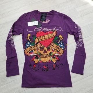 エドハーディー(Ed Hardy)の172新品Ed Hardyエドハーディー ロングTシャツ 長袖Tシャツ ロンT(シャツ/ブラウス(長袖/七分))