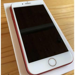 iPhone7 SIMフリー 128G RED(スマートフォン本体)