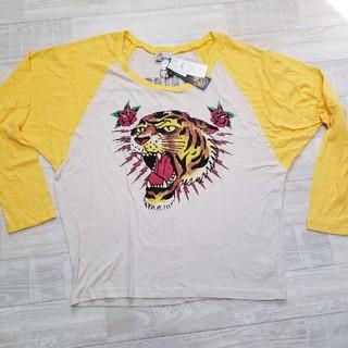 エドハーディー(Ed Hardy)の173 新品 エドハーディー ロングTシャツ  ロンT  レディース(Tシャツ/カットソー(七分/長袖))