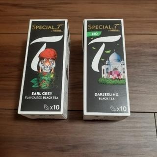 ネスレ(Nestle)の【新品・未使用】ネスレ スペシャルT  紅茶 カプセル ダージリン アールグレイ(茶)