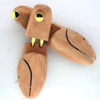 新品 木製シューキーパー SW3940 25.5-27㎝ ツリー 型崩れ防止 (その他)