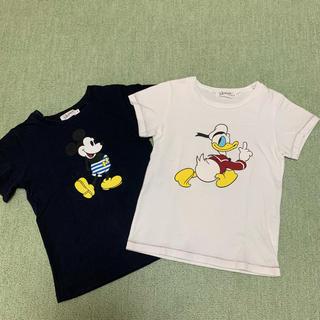 Disney - ディズニーTシャツ2枚セット