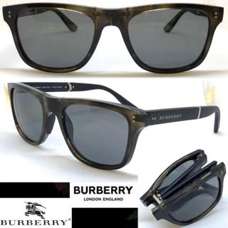 バーバリー(BURBERRY)のBurberry バーバリー サングラス BE4204 3541/T8 折り畳み(サングラス/メガネ)