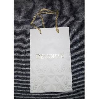 コスメデコルテ(COSME DECORTE)のDECORTE ショップバッグ 二点(ショップ袋)