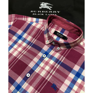 BURBERRY - 一回着用 超美品バーバリーブラックレーベル シャツ2
