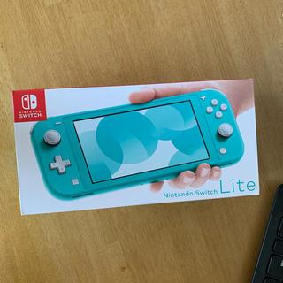 Nintendo Switch - 即日発送可 新品 Nintendo Switch  Lite 本体 ターコイズ