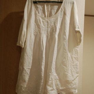 スタディオクリップ(STUDIO CLIP)のBOLO ナチュラル カットワーク Tシャツ キュロットパンツ (Tシャツ(半袖/袖なし))
