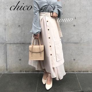 フーズフーチコ(who's who Chico)の春新作❁フーズフーチコ デカポケラップフレアスカート(ロングスカート)