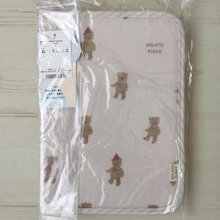 ジェラートピケ(gelato pique)の新品 ジェラートピケ テディベア テデイベア  母子手帳ケース ピンク(母子手帳ケース)