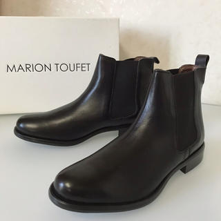 IENA - 新品「MARION TOUFET」サイドゴアブーツ