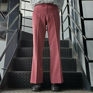 JOHN LAWRENCE SULLIVAN - ヴィンテージ スラックス トラウザー フレアパンツ パープル ピンク
