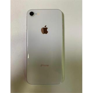 アップル(Apple)のiphone8(スマートフォン本体)
