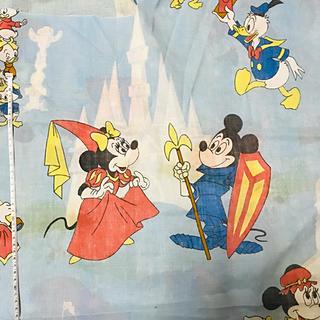 ディズニー(Disney)のディズニー☆usedシーツ(生地/糸)