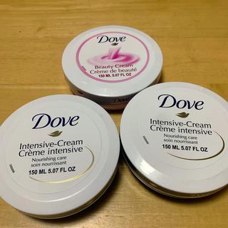 ユニリーバ(Unilever)のDove ボディクリーム 3つセット(ボディクリーム)
