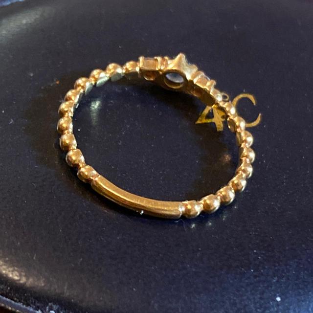 4℃(ヨンドシー)の4℃ k18 リング+トレセンテリング レディースのアクセサリー(リング(指輪))の商品写真