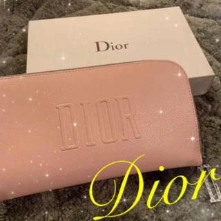 Dior - ♥️非売品♥️ Dior ノベルティ ポーチ クラッチバッグ ピンク