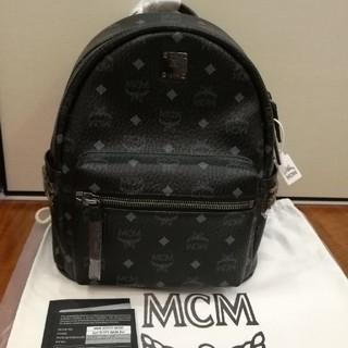MCM - mcmバックリュック 黒 sサイズ