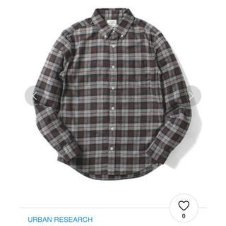 アーバンリサーチ(URBAN RESEARCH)のアーバンリサーチ   長袖 チェックシャツ(シャツ)