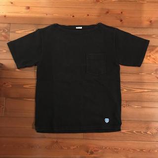 オーシバル(ORCIVAL)のオーチバル バスクシャツ ★サイズ3 極美品 ブラック(Tシャツ/カットソー(七分/長袖))