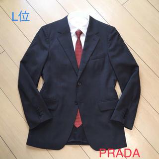 プラダ(PRADA)のPRADA/プラダ×最高級ジャケット高級ウールグレーテーラードジャケットA461(テーラードジャケット)