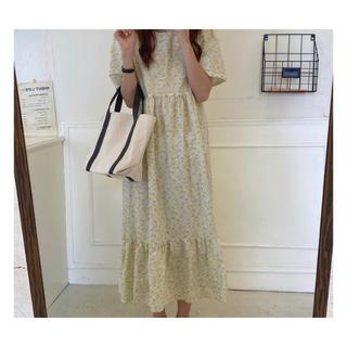 dholic - 韓国fashion*【2color】花柄ワンピース 068
