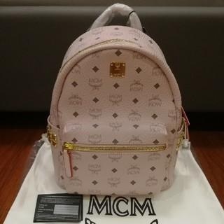 MCM - 新作カラー mcmバックリュック パウダーピンク