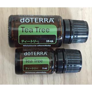 【開封済み】doTERRA ドテラ Tea Tree  ティートリー セット