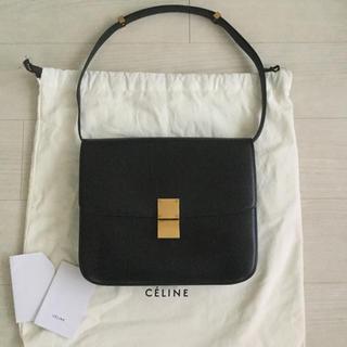 celine -  CELINE セリーヌ クラシックボックス ラージ 黒 ブラック フィービー