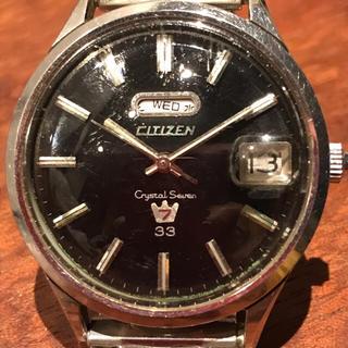 シチズン(CITIZEN)のCITIZEN クリスタルセブン 33石 51401-Y(腕時計(アナログ))